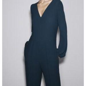 Zara green/teal jumpsuit